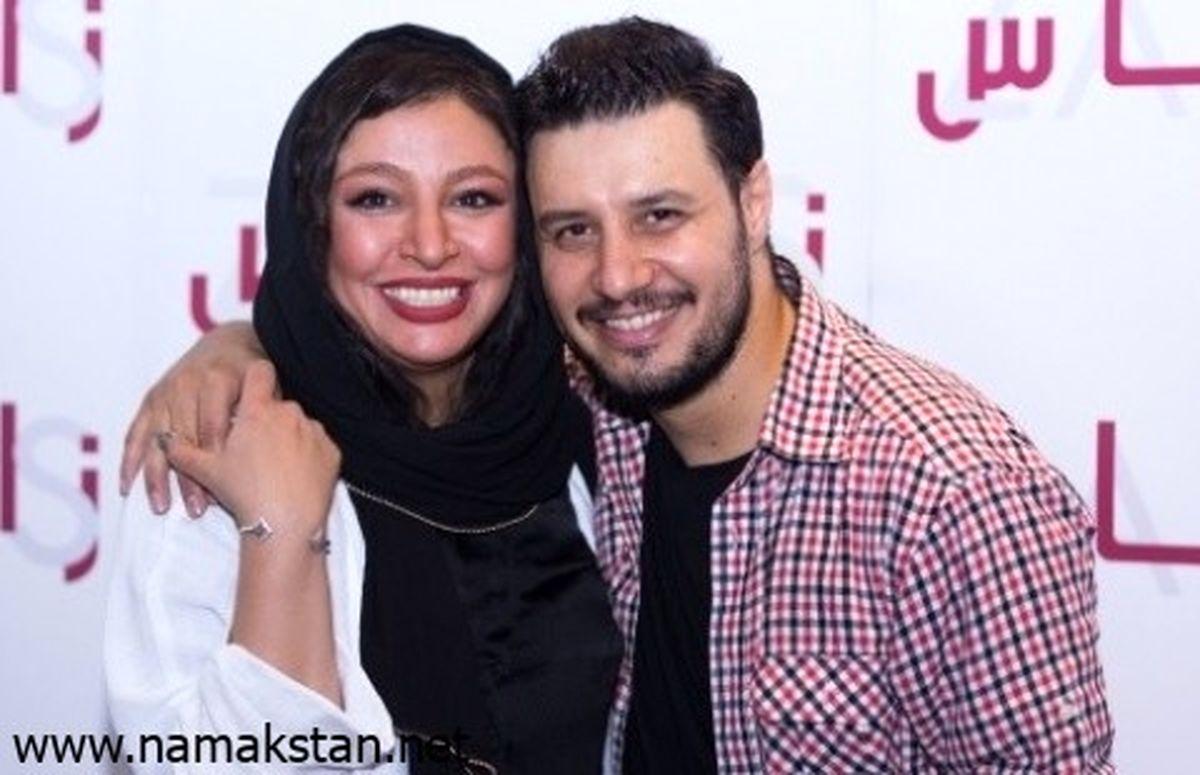 عکس-جواد-عزتی-و-همسرش2