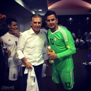 بیوگرافی حامد لک دروازه بان فوتبال + تصاویر