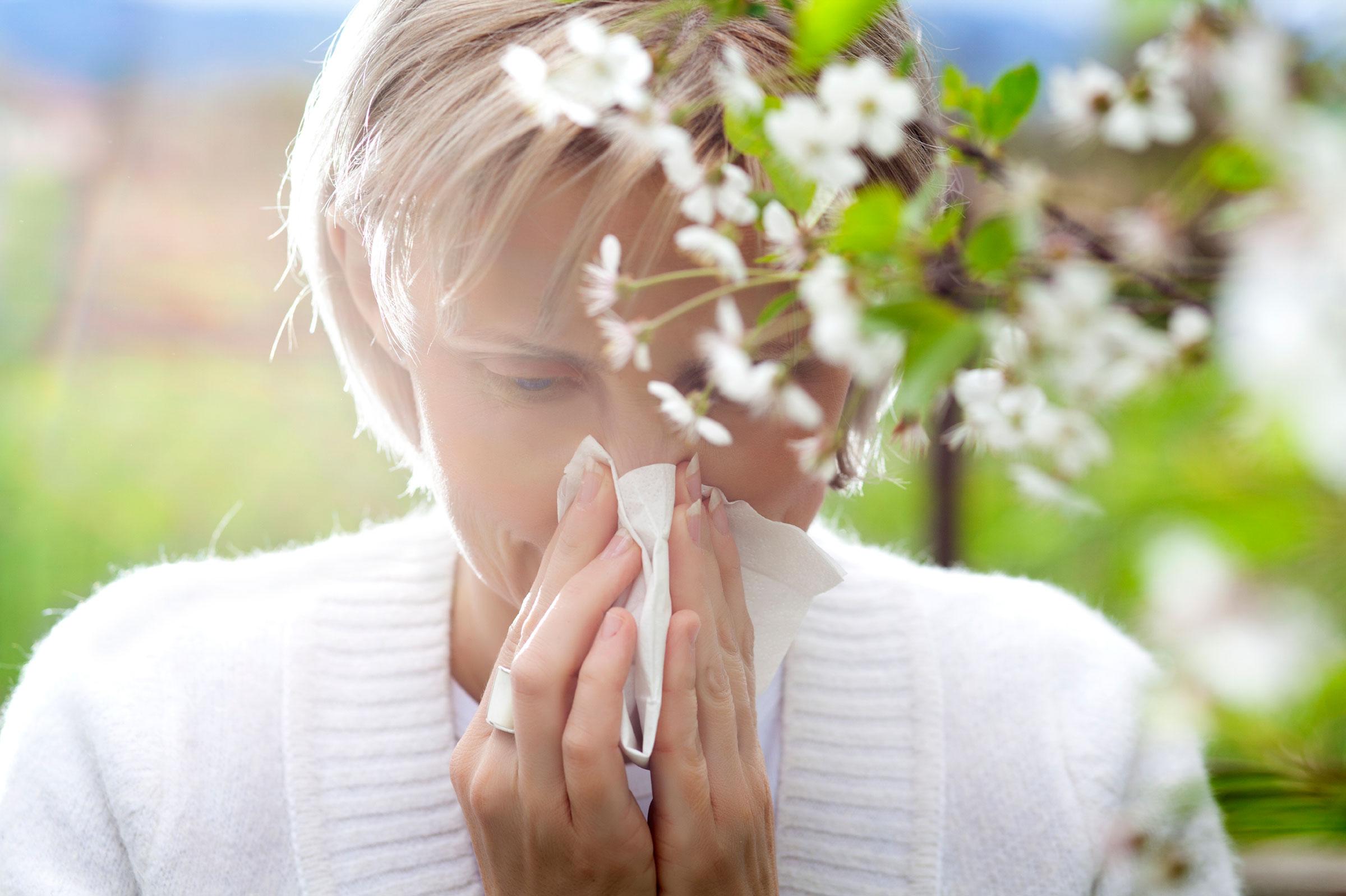 راه های درمان خانگی آلرژی فصلی