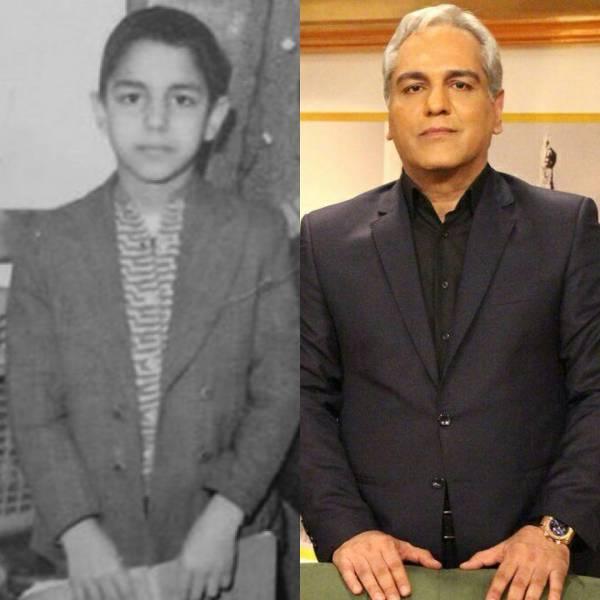 عکس دوران نوجوانی مهران مدیری
