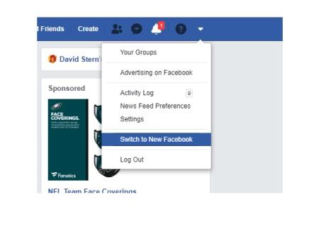 دسترسی صفحه فیسبوک 1