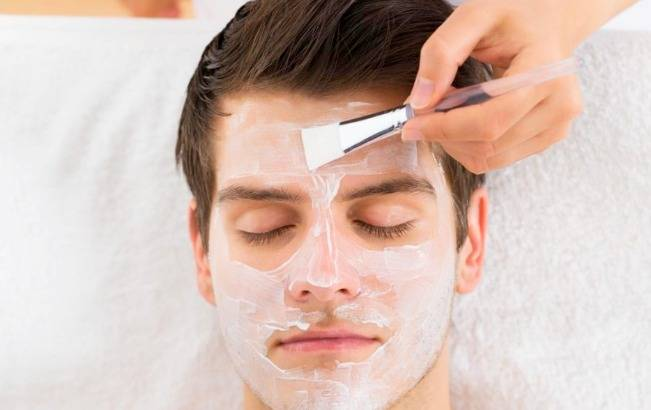 ماسک صورت خانگی برای آقایان