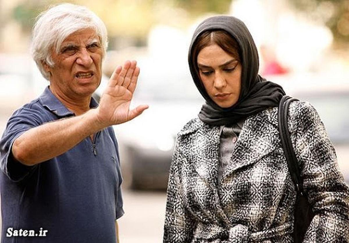 مژده شمسایی و همسرش بهرام بیضایی