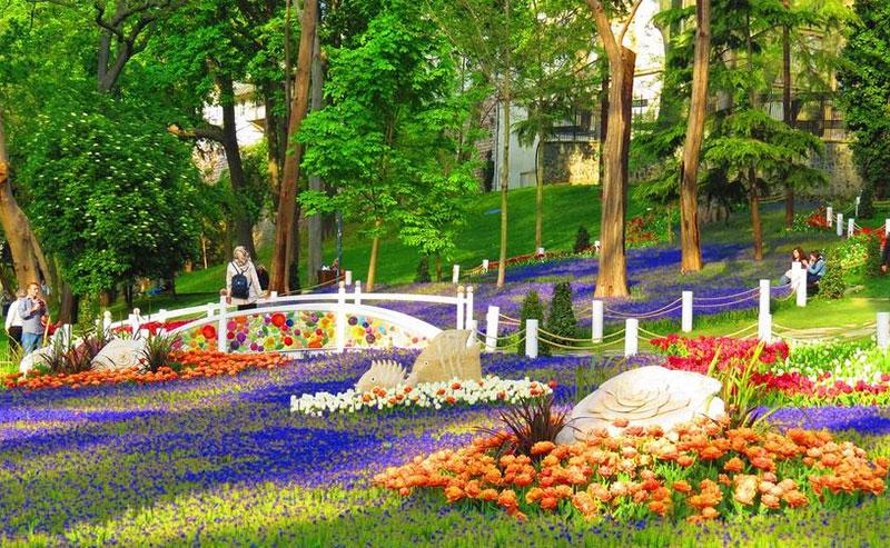 پارک گلخانه در استانبول
