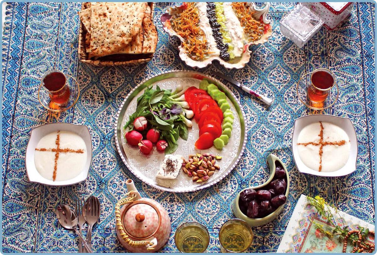 اصول تغذیه ماه رمضان در وضیعت کرونایی
