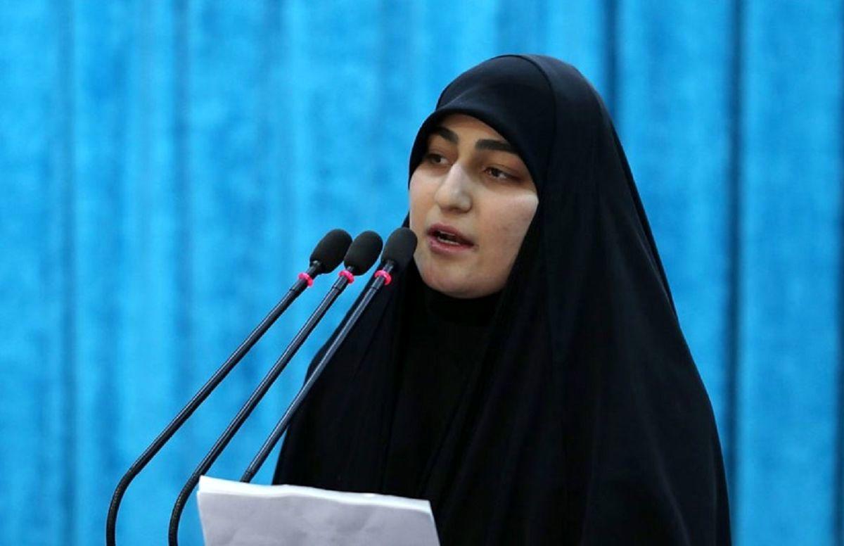 پست معنادار دختر سردار سلیمانی برای شهید فخری زاده + عکس