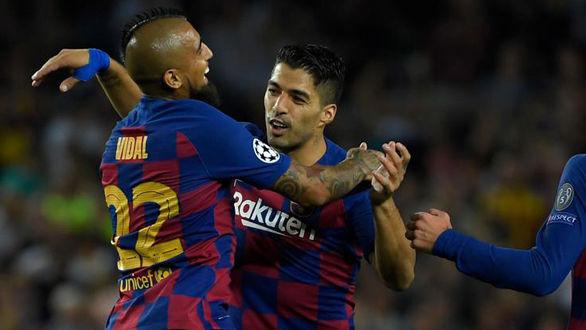 در رختکن بارسلونا چه خبر است!
