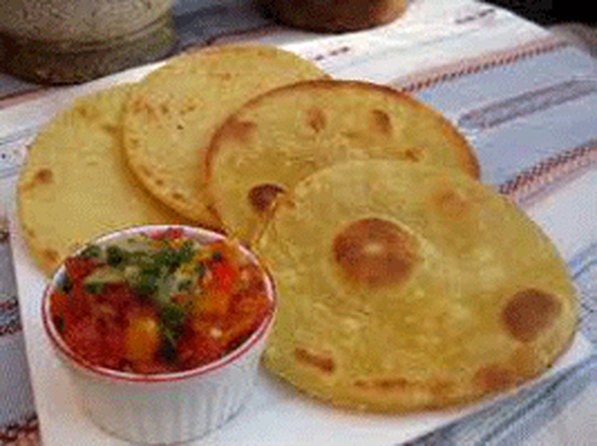 آموزش وطرز تهیه نان الجزایری