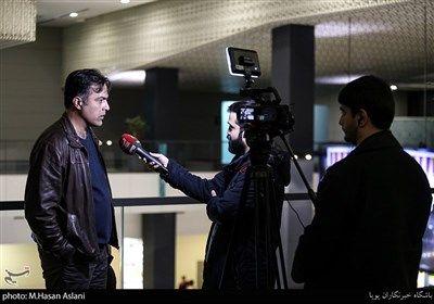 مصاحبه با محمدرضا جلالی تبار در هفتمین روز سی و هشتمین جشنواره فیلم فجر در پردیس چارسو