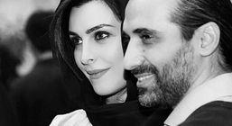 پست جگرسوز همسر ماه چهره خلیلی برای مراسم خاکسپاری همسرش + عکس