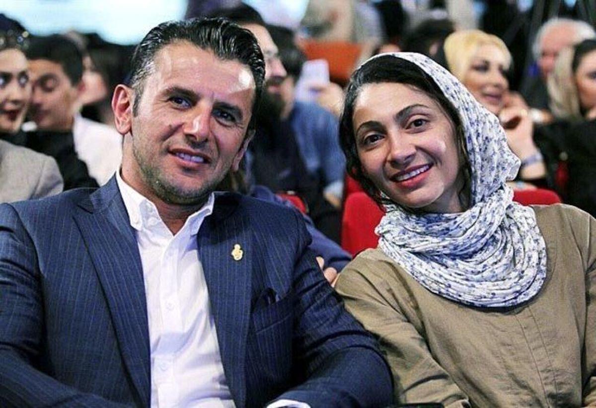 عکس همسر جدید امین حیایی | مراسم عروسی پسر امین حیایی