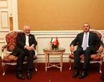 دیدار ظریف و وزیر خارجه ترکیه