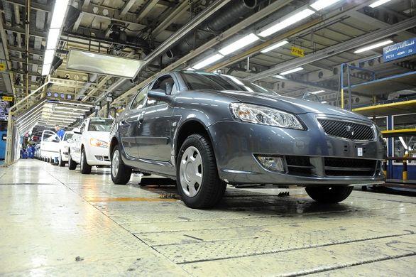 هدفگذاری تولید 600 هزار دستگاه خودرو در سال99