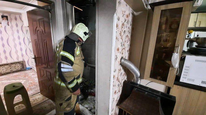 سازمان آتشنشانی تهران , آتشنشانی , آتشسوزی , حوادث , اورژانس ,