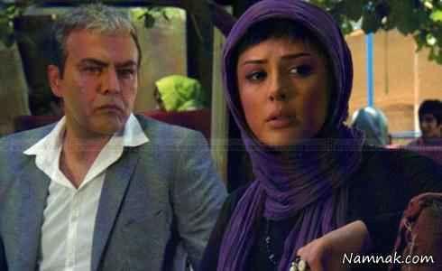 عکس نیوشا ضیغمی و فریبز عرب نیا در فیلم پرتغال خونی