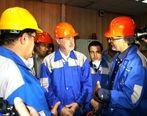 تحسین مدیریت مجتمع فولاد صنعت بناب توسط استاندار آذربایجان شرقی