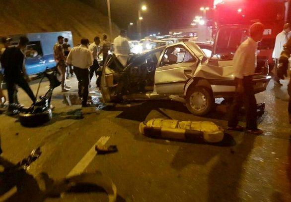 ۲۵ کشته و مصدوم در تصادف محور شیراز- اصفهان
