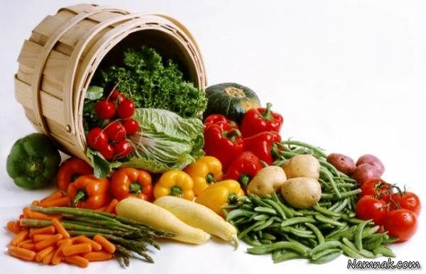 با میوه ها و سبزیجات لاغر کننده آشنا شوید!