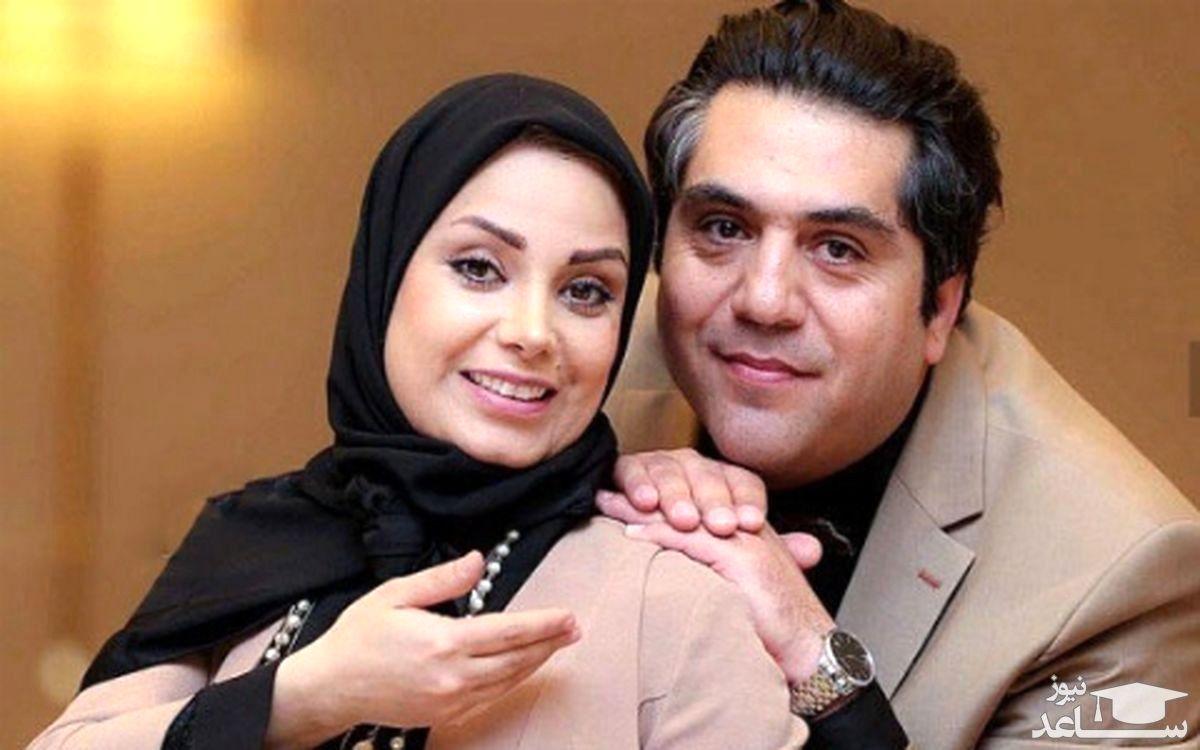 صبا راد و همسرش عزادار شدند  + عکس