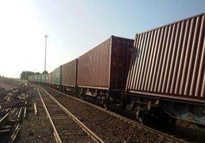 حادثه وحشتناک برای قطار باربری قم - آپرین