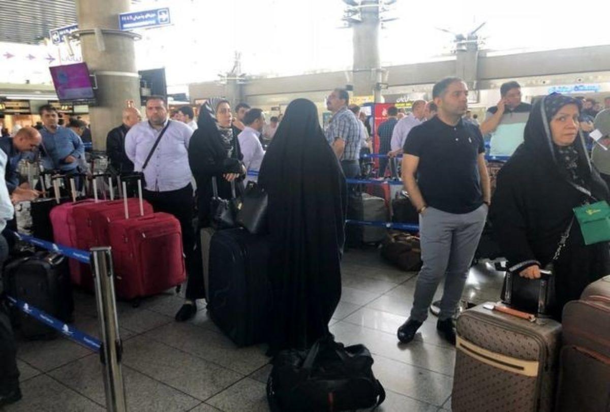 ماجرای تنش و درگیری در فرودگاه امام خمینی(ره)   آیا صدور ویزا به عراق منتفی شد؟