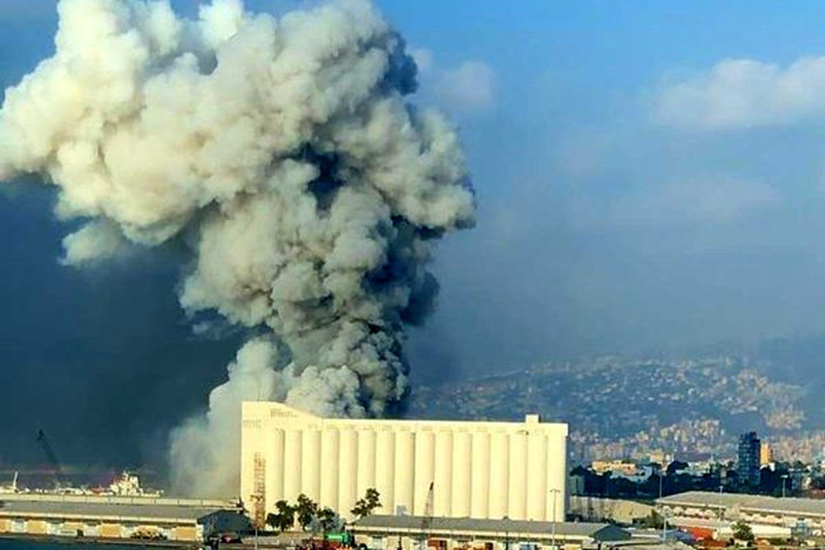 زخمی شدن همسر و فرزند نخست وزیر لبنان در انفجار مهیب بیروت
