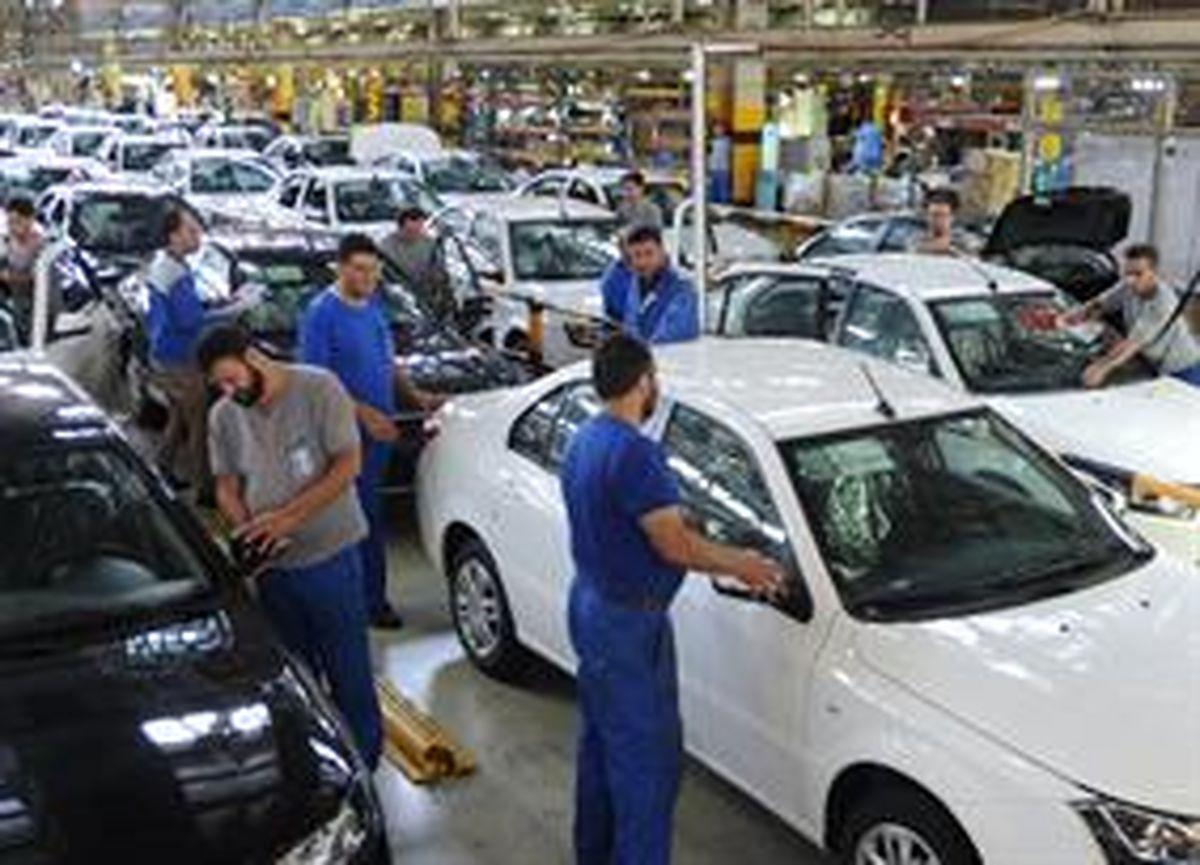 شیب نزولی تعهدات معوقه ایران خودرو
