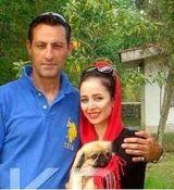 عکس های لو رفته از الناز حبیبی در کنار همسرش + تصاویر