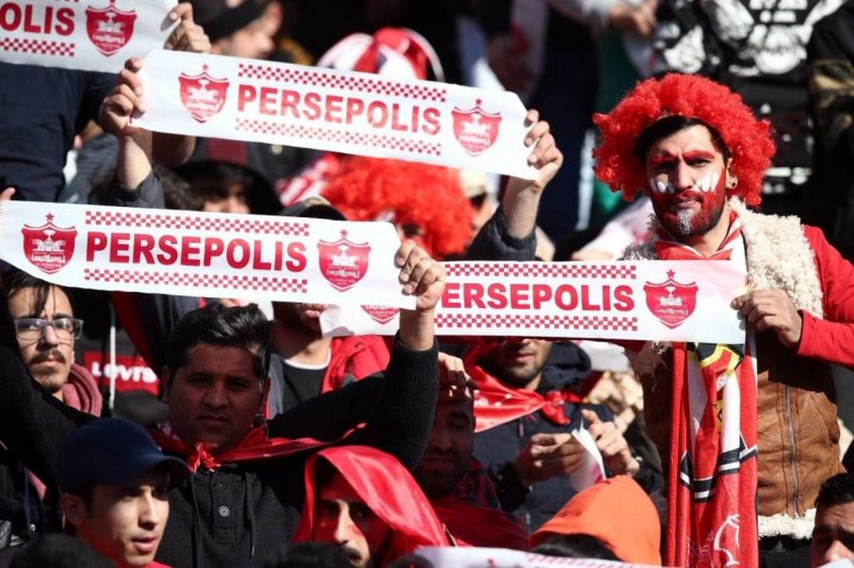 تعجب رسانه های قطری از حضور پرشور هواداران پرسپولیس در دوحه!