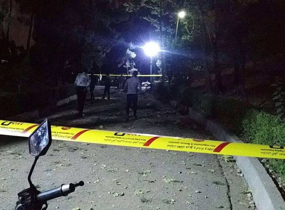 علت انفجار پارک ملت بعد از سه روز مشخص شد