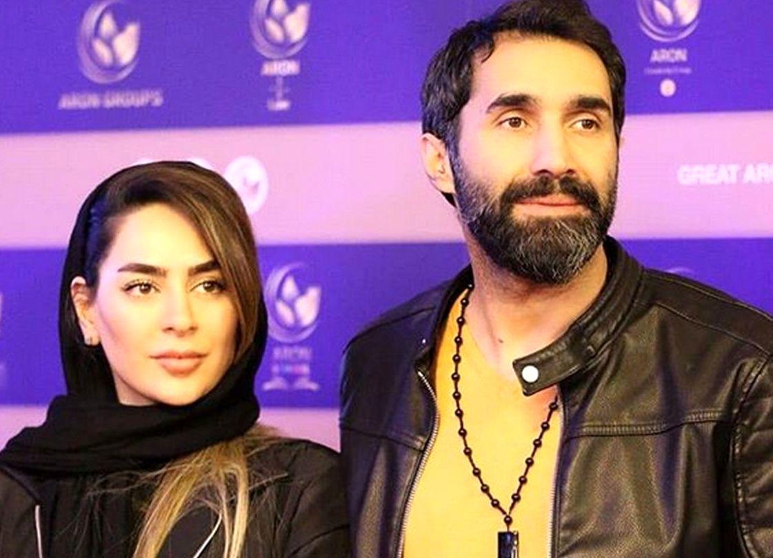 تیپ جدید سمانه پاکدل و همسرش هادی کاظمی/عکس
