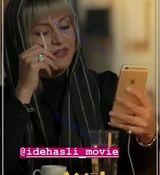 مریلا زارعی در حال سیگار کشیدن در رستوران! + تصاویر
