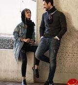 عاشقانه های سپیده بزمی پور برای شاهرخ استخری جنجالی شد + عکس