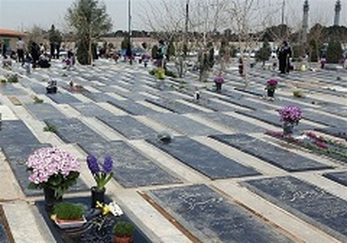 ورود به بهشتزهرا فقط برای تدفین متوفیان مجاز است