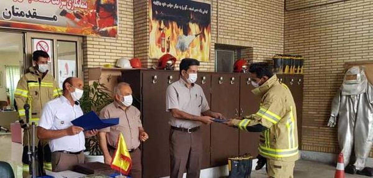 تقدیراز ماموران آتش نشانی، ایمنی و ستاد پیشگیری از بیماری کرونا