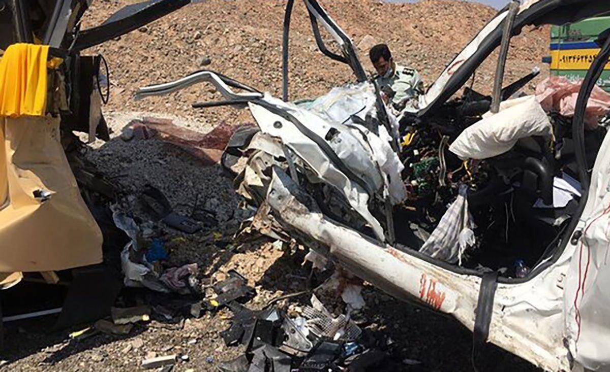 عکس از صحنه مرگ 5 عضو یک خانواده در نطنز + عکس