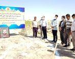 آیین کلنگزنی ساخت و اهدای یک باب منزل مسکونی در منطقه محروم گلدشت