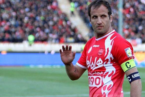 بازیکن سابق پرسپولیس از فوتبال خداحافظی کرد + عکس