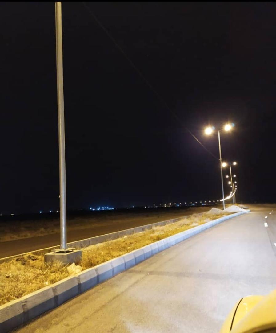 مشارکت در تکمیل پروژه بهساری و تامین روشنایی محور فرودگاه سیرجان
