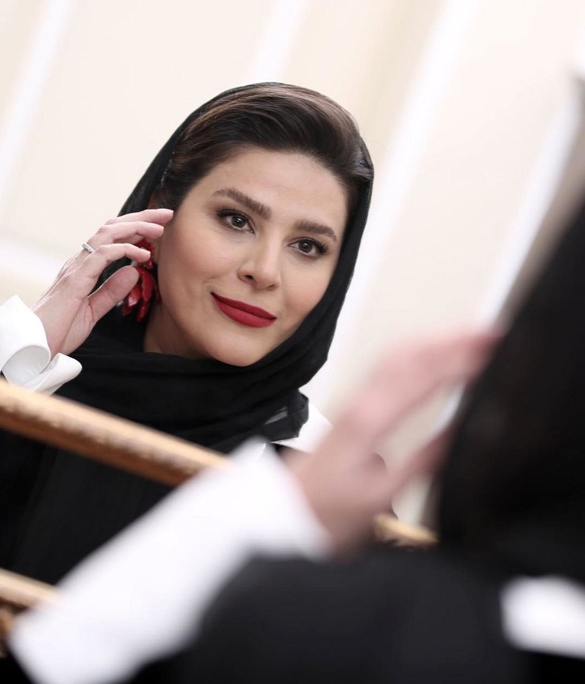 سحر دولتشاهی حامله شد | فیلم لورفته از بارداری سحر دولتشاهی