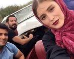 عکس همسر نوید محمدزاده لو رفت + فیلم عاشقانه