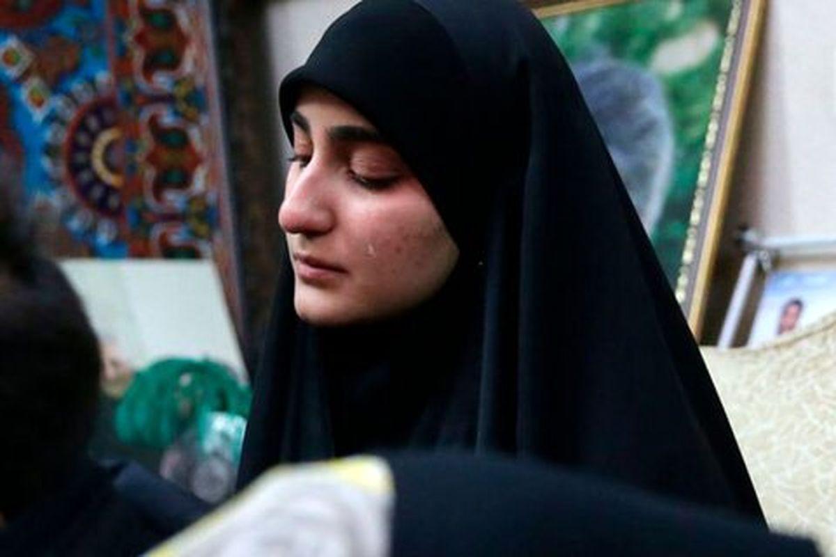پست اینستاگرامی دختر سردار سلیمانی درباره نابودی اسرائیل + عکس