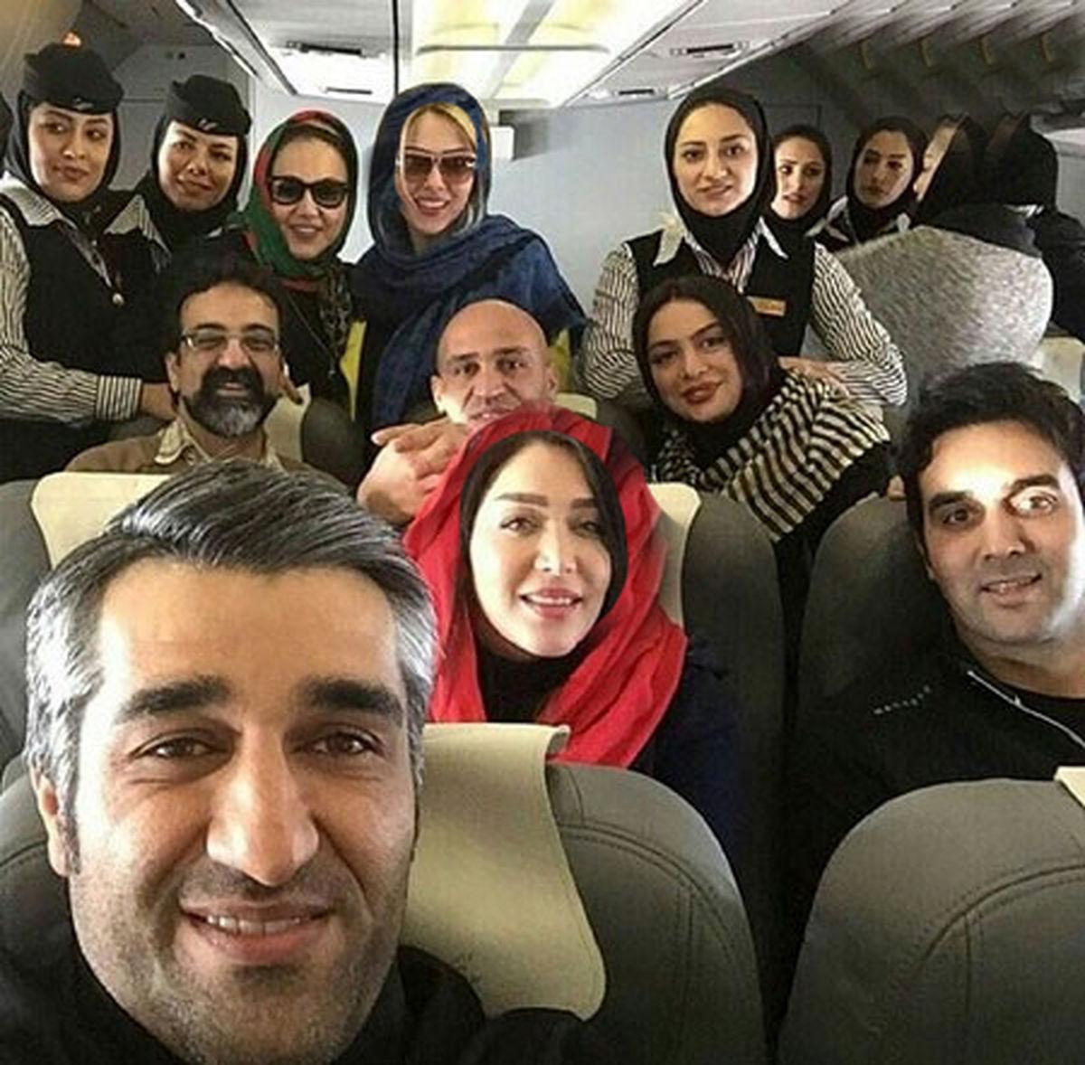 هواپیمای پژمان جمشیدی سقوط کرد + فیلم و عکس