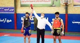 حضور تیم بیمه حکمت در مسابقات لیگ برتر ووشوی کشور