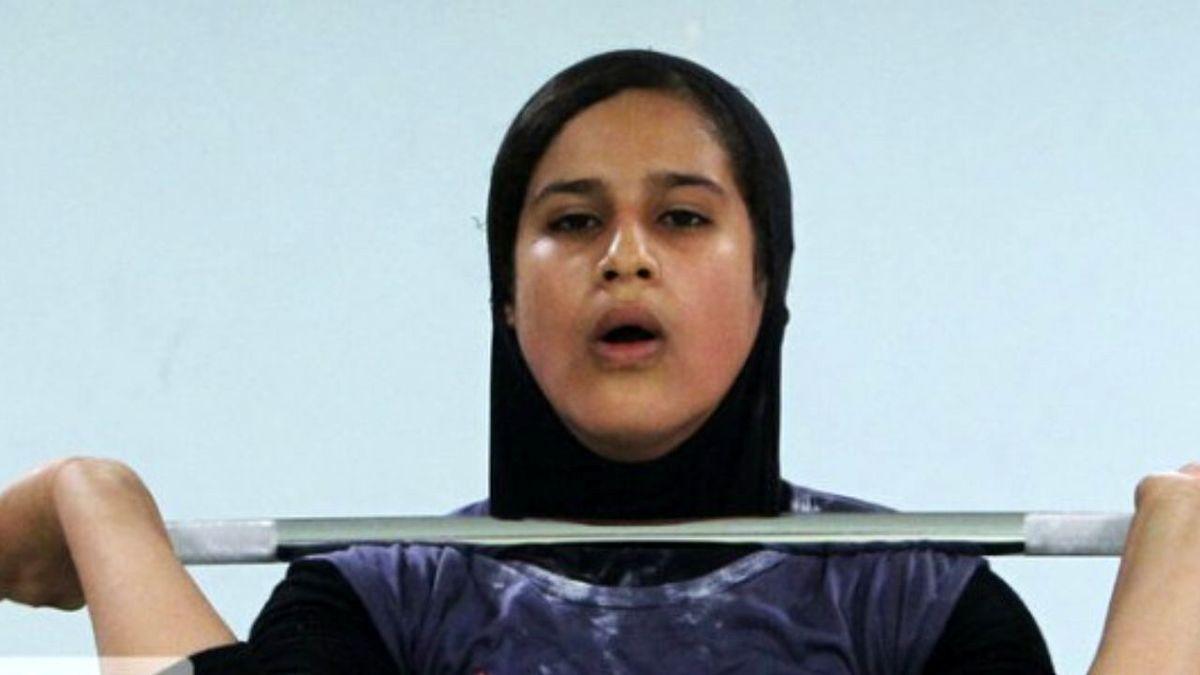 دختر وزنه بردار ایرانی تاریخ ساز شد + فیلم
