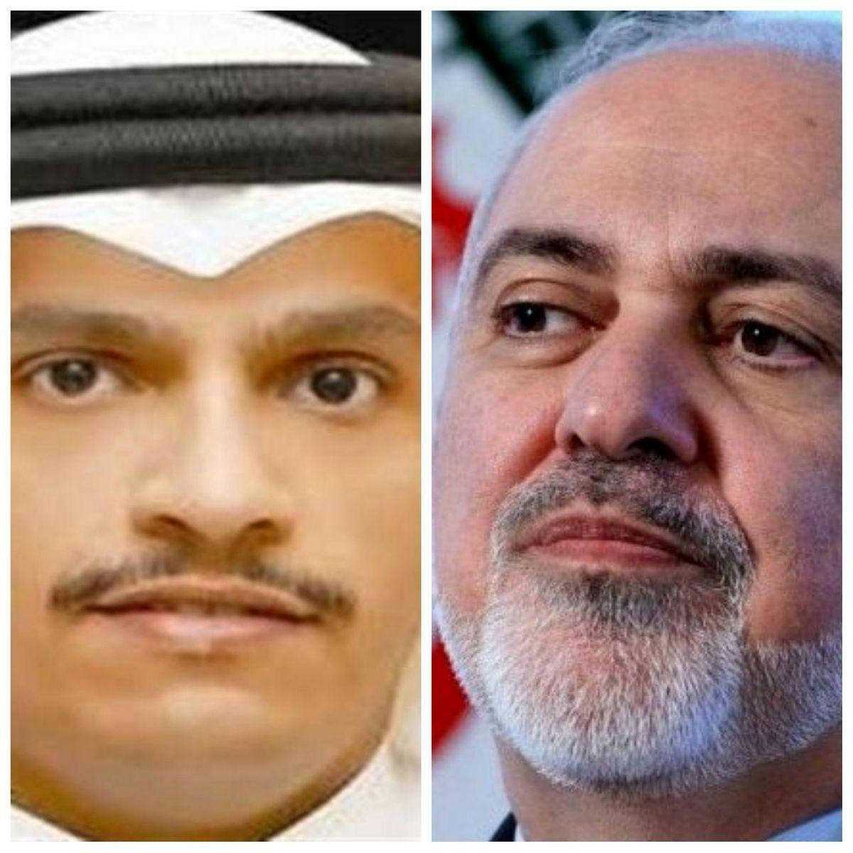 گفتوگوی وزرای خارجه ایران و قطر