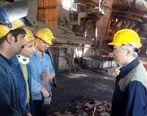 حضور مهندس یزدی زاده در اولین دقایق سال ۱۳۹۹ در کنار تلاشگران ذوب آهن اصفهان