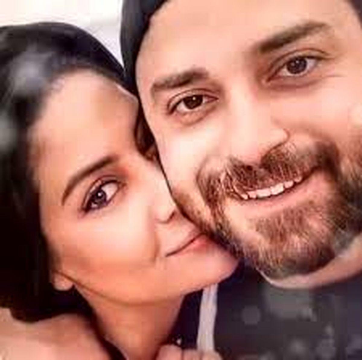ست جذاب بابک جهانبخش و همسرش + عکس