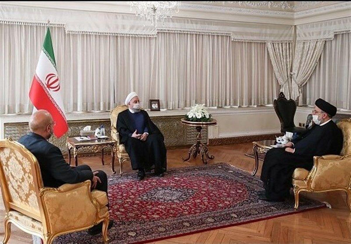 در جلسه اقتصادی روحانی، رئیسی و قالیباف چه گذشت؟