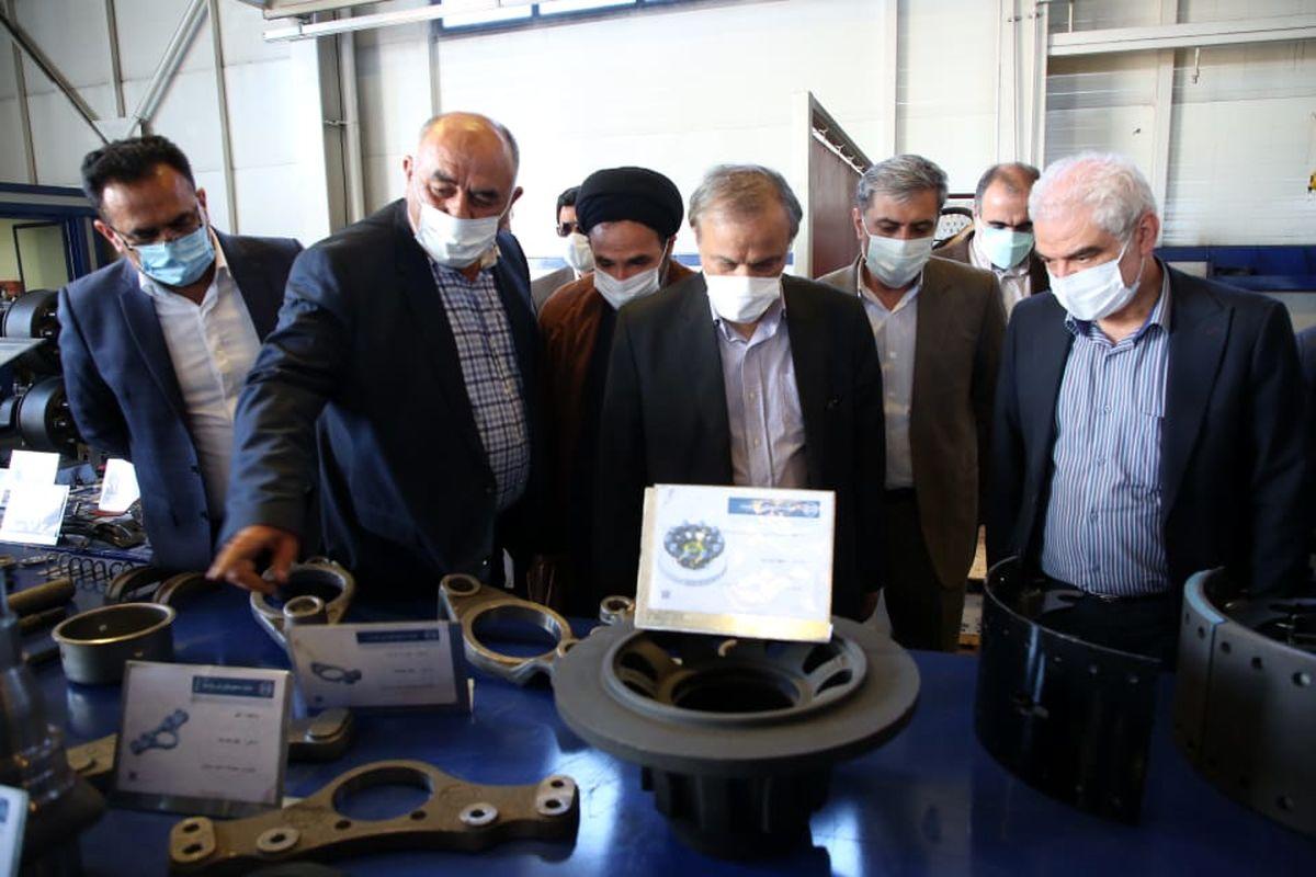 بازدید وزیر صمت از گروه صنعتی مارال صنعت ارومیه
